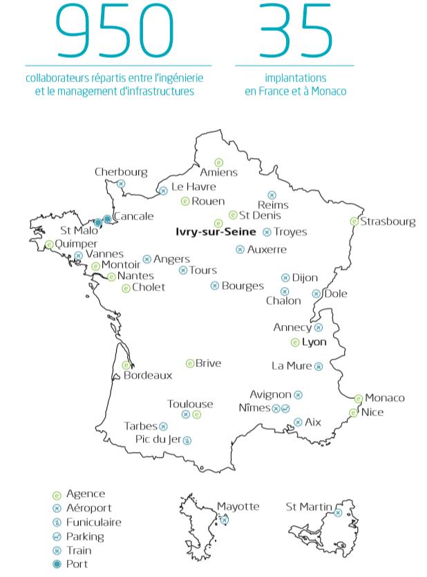 Implantation EDEIS des infrastructures parking des aéroports et ports en France